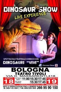 Dinosaur Show bologna